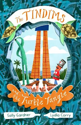 Cover for The Tindims and the Turtle Tangle by Sally Gardner