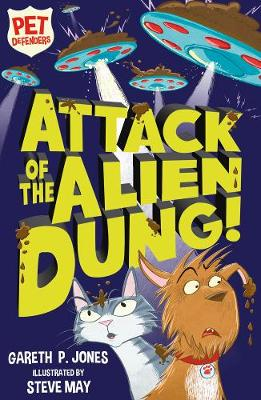 Cover for Attack of the Alien Dung! by Gareth P. Jones