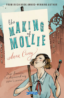 Book Cover for The Making of Mollie by Anna Carey