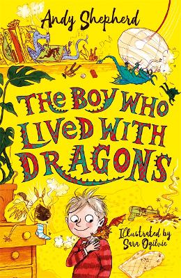 Cover for The Boy Who Lived with Dragons by Andy Shepherd
