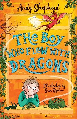 Cover for The Boy Who Flew with Dragons by Andy Shepherd