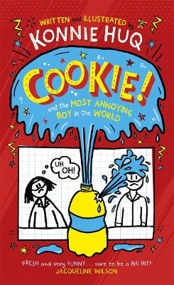Cover for Cookie and the Most Annoying Boy in the World by Konnie Huq