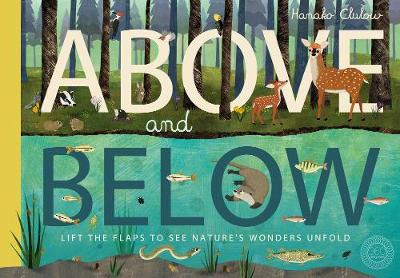 Cover for Above and Below by Patricia Hegarty