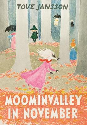 Cover for Moominvalley in November by Tove Jansson