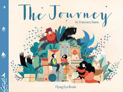 Book Cover for The Journey by Francesca Sanna