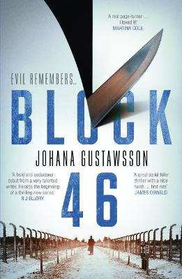 Cover for Block 46 by Johana Gustawsson