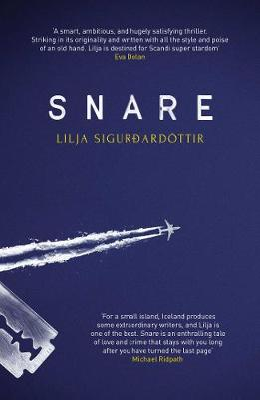 Cover for Snare by Lilja Sigurdardottir