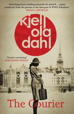 Cover for The Courier by Kjell Ola Dahl