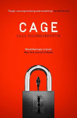 Cover for Cage by Lilja Sigurdardottir