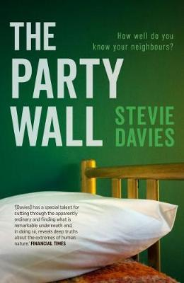 Cover for The Party Wall by Stevie Davies