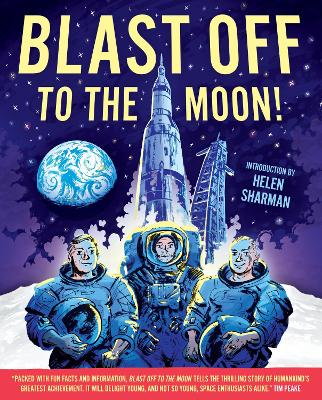 Cover for Blast off to the Moon by