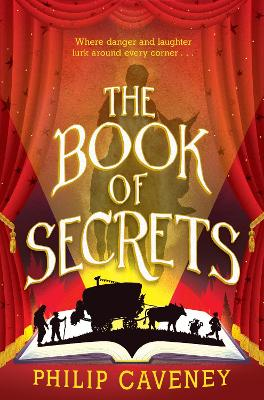 Cover for The Book of Secrets by Philip Caveney
