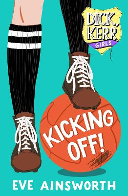 Cover for Kicking Off by Eve Ainsworth