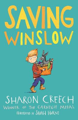 Cover for Saving Winslow by Sharon Creech