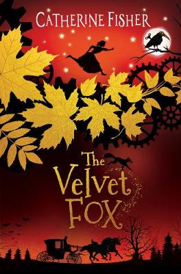 Cover for The Velvet Fox by Catherine Fisher
