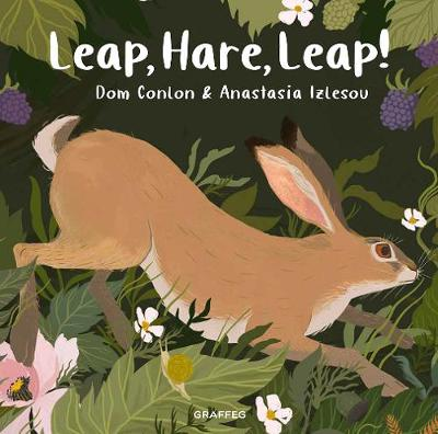 Cover for Leap, Hare, Leap! by Dom Conlon