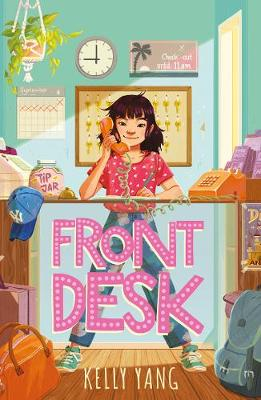 Cover for Front Desk by Kelly Yang
