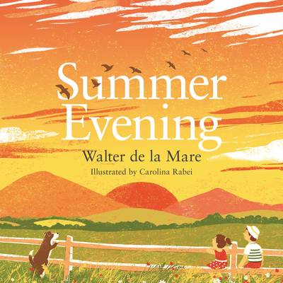 Cover for Summer Evening by Walter de la Mare