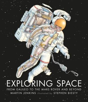 Cover for Exploring Space by Martin Jenkins