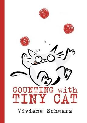 Cover for Counting with Tiny Cat by Viviane Schwarz