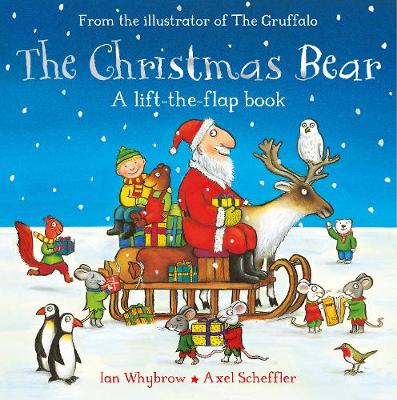 Cover for The Christmas Bear by Ian Whybrow