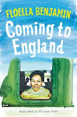Cover for Coming to England by Floella Benjamin