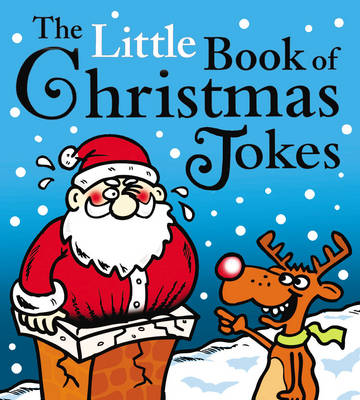 Cover for The Little Book of Christmas Jokes by Joe King