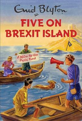 Cover for Five on Brexit Island by Bruno Vincent
