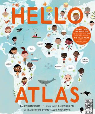 Cover for The Hello Atlas by Ben Handicott