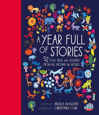 Cover for A Year Full of Stories by Angela Mcallister