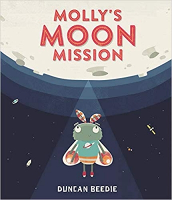 Book Cover for Molly's Moon Mission by Duncan Beedie