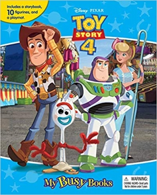 Toy Story 4 My Busy Book