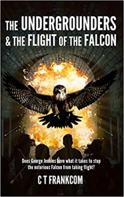 Cover for The Undergrounders & the Flight of the Falcon by C T Frankcom