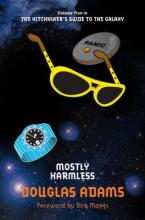 Cover for Mostly Harmless by Douglas Adams