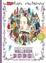 Cover for The What on Earth? Wallbook Timeline of Shakespeare by Christopher Lloyd, Dr. Nick Walton, Patrick Skipworth