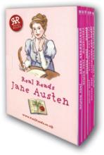 Cover for Jane Austen: 6 book boxed set by Jane Austen - retold by Gill Tavner