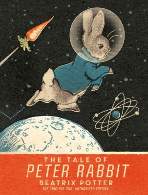 Cover for The Tale Of Peter Rabbit Moon Landing Anniversary Edition by Beatrix Potter