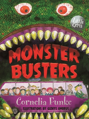 Book Cover for Monster Busters by Cornelia Funke
