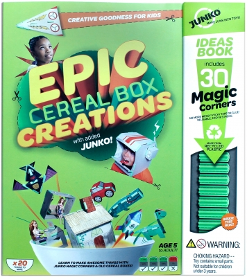 Epic Cereal Box Creations