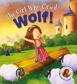 Cover for The Girl Who Cried Wolf by Steve Smallman