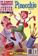 Cover for Pinocchio (Classics Illustrated Junior) by Carlo Collodi