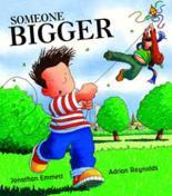 Cover for Someone Bigger by Jonathan Emmett