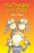 Cover for Trouble With Owls by Hilda Offen