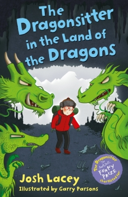 Cover for The Dragonsitter in the Land of Dragons by Josh Lacey