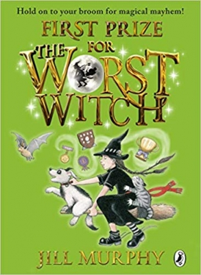 Cover for First Prize for the Worst Witch by Jill Murphy