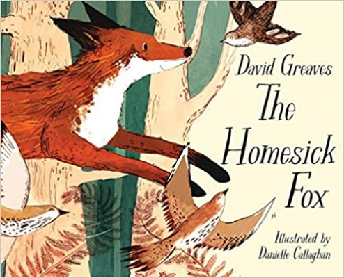 Cover for The Homesick Fox by David Greaves