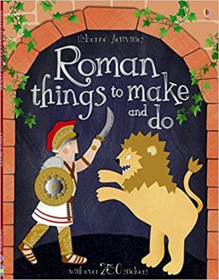 Cover for Roman Things to Make and Do by Leonie Pratt