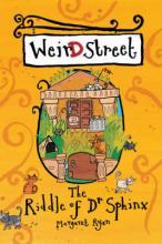 Cover for Weird Street: The Riddle of Dr Sphinx by Margaret Ryan