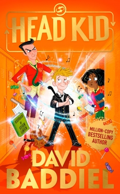 Cover for Head Kid by David Baddiel