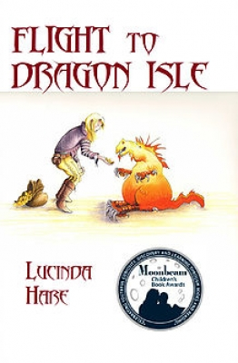 Cover for Flight to Dragon Isle by Lucinda Hare